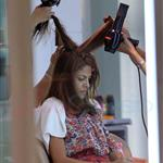 Eva Mendes gets her hair done in Thailand 106315
