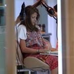 Eva Mendes gets her hair done in Thailand 106318