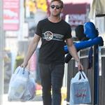Ryan Gosling leaves an MMA class in Hollywood and buys new gear  101467