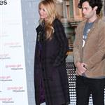 Blake Lively and Penn Badgley at The Mayoral proclamation in celebration of the Gossip Girl 100th episode at Silver Cup Studios in New York City 103904