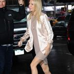 Gwyneth Paltrow arriving at Good Morning America today 83116