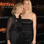 Gwyneth Paltrow and Blythe Danner at the Valentino Last Emperor premiere in New York March 2009 75195