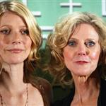 Gwyneth Paltrow and Blythe Danner at the Lucy Awards June 2004 75200