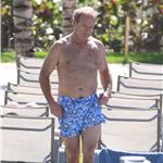 Kelsey Grammer and Kayte Walsh PDA gross in Miami  79521