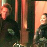 Hugh Grant and Tinglan Hong in London January 2011  97517