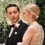 Carey Mulligan and Tobey Maguire  on the set of the Great Gatsby in Australia 99724