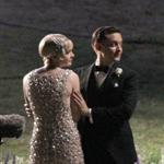 Carey Mulligan and Tobey Maguire  on the set of the Great Gatsby in Australia 99727
