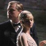 Carey Mulligan and Leonardo DiCaprio on the set of the Great Gatsby in Australia 99730