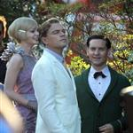 Leonardo DiCaprio, Carey Mulligan and Tobey Maguire on the set of The Great Gatsby 98717