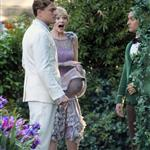 Leonardo DiCaprio, Carey Mulligan and Tobey Maguire on the set of The Great Gatsby 98721
