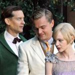 Leonardo DiCaprio, Carey Mulligan and Tobey Maguire on the set of The Great Gatsby 98726