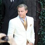 Leonardo DiCaprio on the set of The Great Gatsby 98729