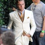 Leonardo DiCaprio on the set of The Great Gatsby 98732