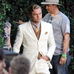 Leonardo DiCaprio on the set of The Great Gatsby 98733