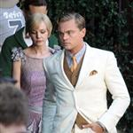 Leonardo DiCaprio and Carey Mulligan on the set of The Great Gatsby  98735