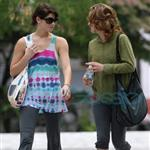 Ashley Greene and Elizabeth Reaser in Vancouver after training for fight scenes for Eclilpse 44157