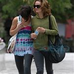 Ashley Greene and Elizabeth Reaser in Vancouver after training for fight scenes for Eclilpse 44160