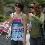 Ashley Greene and Elizabeth Reaser in Vancouver after training for fight scenes for Eclilpse 44161