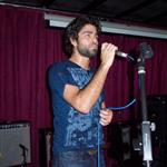 Adrian Grenier with his band in Australia 29750
