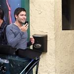 Adrian Grenier shoots a new season of Entourage with short hair 58967