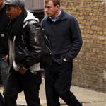 Guy Ritchie on set of Sherlock Holmes today 27456