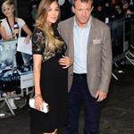 Guy Ritchie and Jacqui Ainsley at the London premiere of The Dark Knight Rises  121228