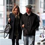 Guy Ritchie and pregnant Jacqui Ainsley leaving the Kabbalah Centre in London  83492