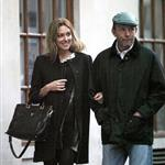 Guy Ritchie and pregnant Jacqui Ainsley leaving the Kabbalah Centre in London  83494