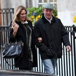 Guy Ritchie and pregnant Jacqui Ainsley leaving the Kabbalah Centre in London  83495