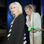 Gwyneth Paltrow and Gwen Stefani out for dinner in London May 2011 85139