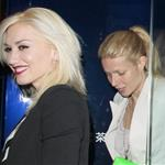 Gwyneth Paltrow and Gwen Stefani out for dinner in London May 2011 85142