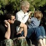 Gwen Stefani Gavin Rossdale Kingston at the park 16297