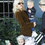 Gwen Stefani with her boys the other day at the park  54197
