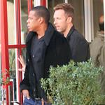 Jay-Z and Chris Martin have lunch at the Standard Grill in NYC  96403