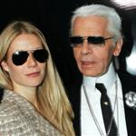 Gwyneth Paltrow and Karl Lagerfeld  86537