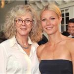 Gwyneth Paltrow and Blythe Danner at Baby Buggy Summer Dinner   91148