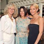 Gwyneth Paltrow Jessica Seinfeld and Blythe Danner at Baby Buggy Summer Dinner   91152