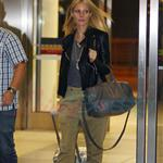 Gwyneth Paltrow departing from Toronto after her appearance at TIFF 125969