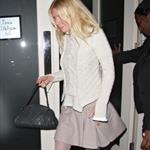 neth Paltrow leaving La Petit Maison after dining with Guy Ritchie and partner Jacqui Ainsley in London 99050