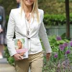 Gwyneth Paltrow promotes cookbook at Chelsea Flower Show 86000