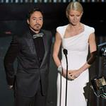 Gwyneth Paltrow and Robert Downey Jr. at the 84th Annual Academy Awards 107573