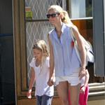 Gwyneth Paltrow out in London with her daughter Apple Martin and some friends 115972