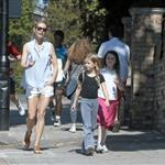 Gwyneth Paltrow out in London with her daughter Apple Martin and some friends 115976