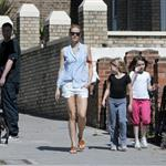 Gwyneth Paltrow out in London with her daughter Apple Martin and some friends 115994