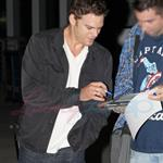Michael C. Hall arrives in Toronto. Exclusive photos from Punkd Images.  68826