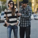 Michael C Hall and ex-wife Jennifer Carpenter spend the evening together in Santa Monica 105282