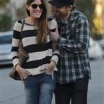 Michael C Hall and ex-wife Jennifer Carpenter spend the evening together in Santa Monica 105283