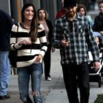 Michael C Hall and ex-wife Jennifer Carpenter spend the evening together in Santa Monica 105291
