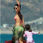 Halle Berry celebrates 45th birthday on the beach with Nahla and friends 91835