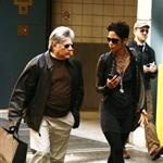 Halle Berry in New York with her manager 59948